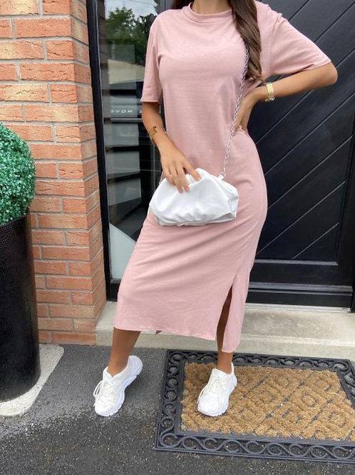 Shirt jurk Roze