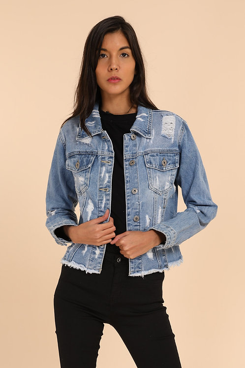 Jeans jas 6753