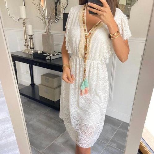 Ibiza jurk wit
