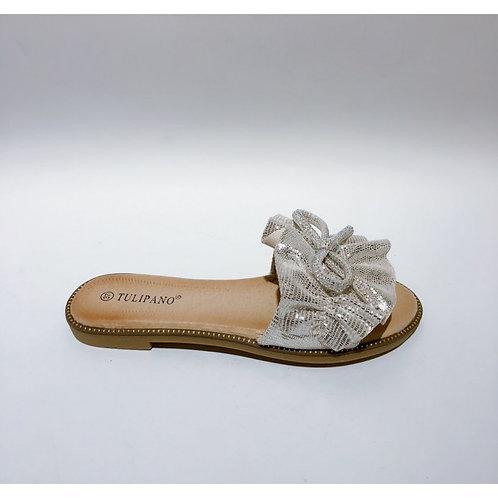 Slipper Tulipano Silver