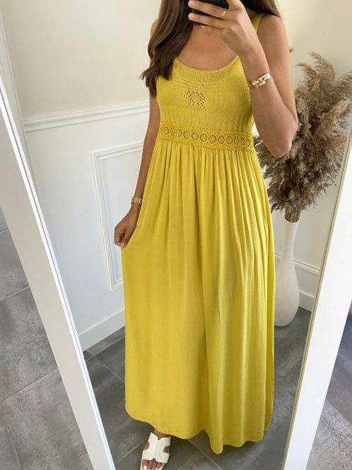 Lange jurk Oker