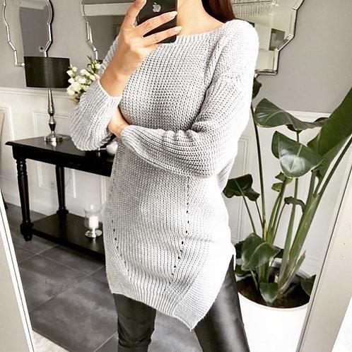 Long Shirt grijs