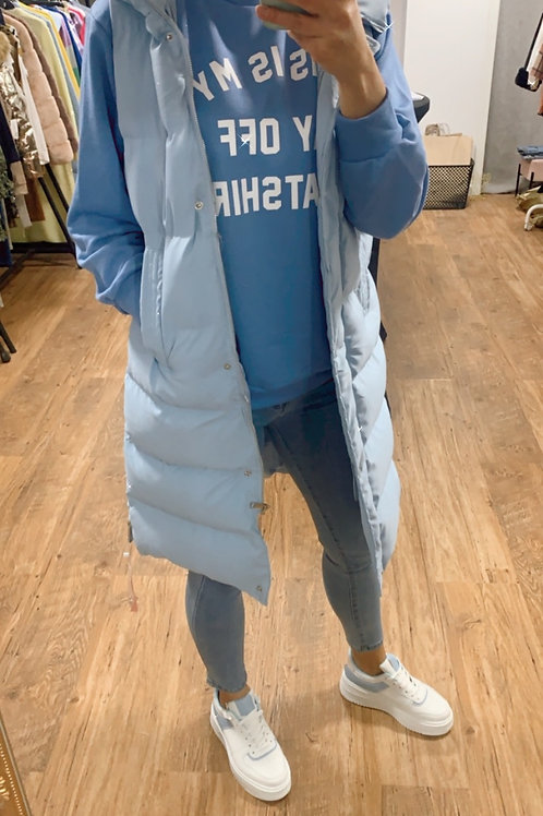 Bodywarmer bleu