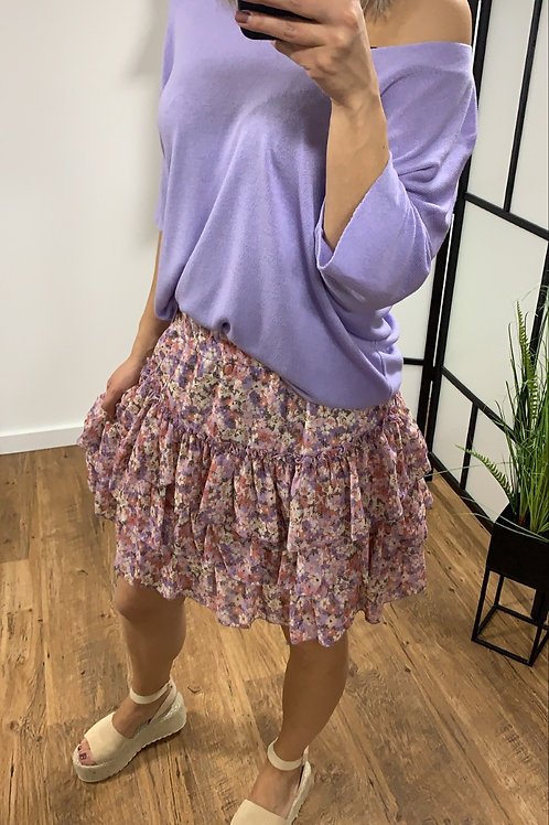 Flower skirt lila