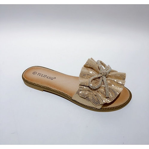 Slippers Tulipano Champagne