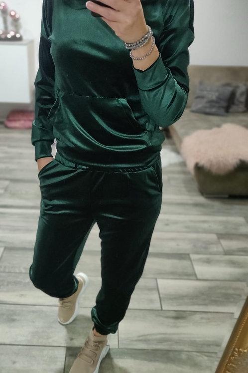 Velvet Jogging green