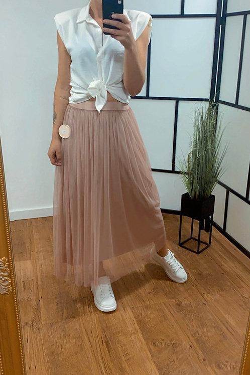 Lange Tule rok - 2 kleurtjes