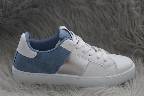 Sneakers blauw/wit