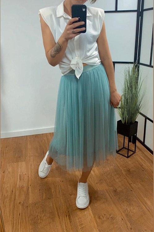 Halflange Tule rok -  2 kleurtjes