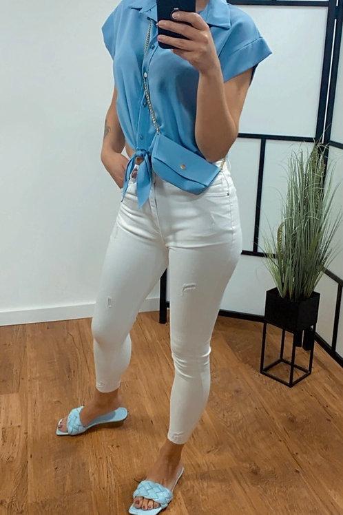 High waist jeans - Wit - Vs miss