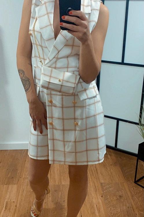 Blazer dress - met tasje