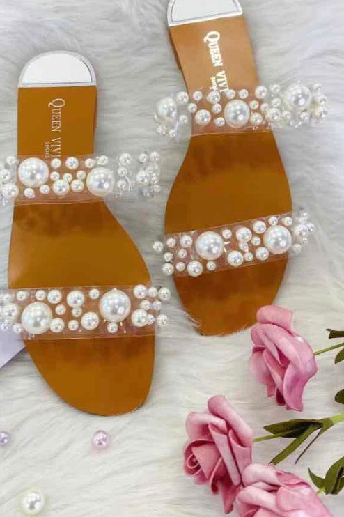 Parel slippers