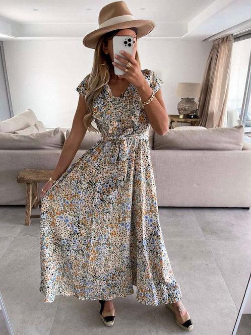 Flowerdress lang