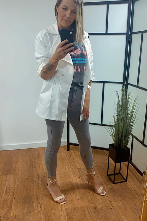 Parka jacket - Wit