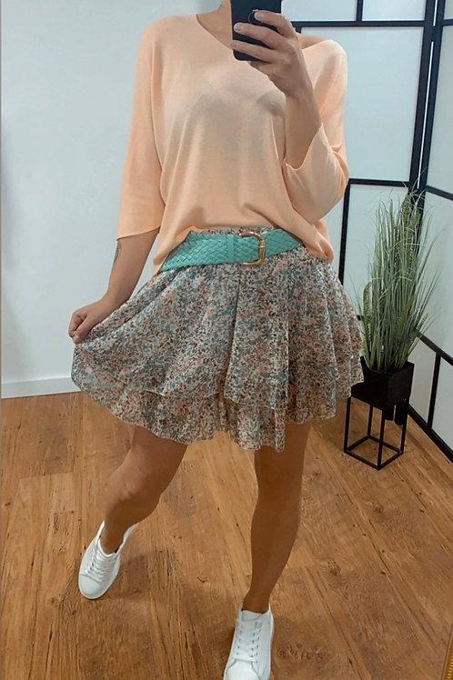 Flower skirt - 2 laagjes