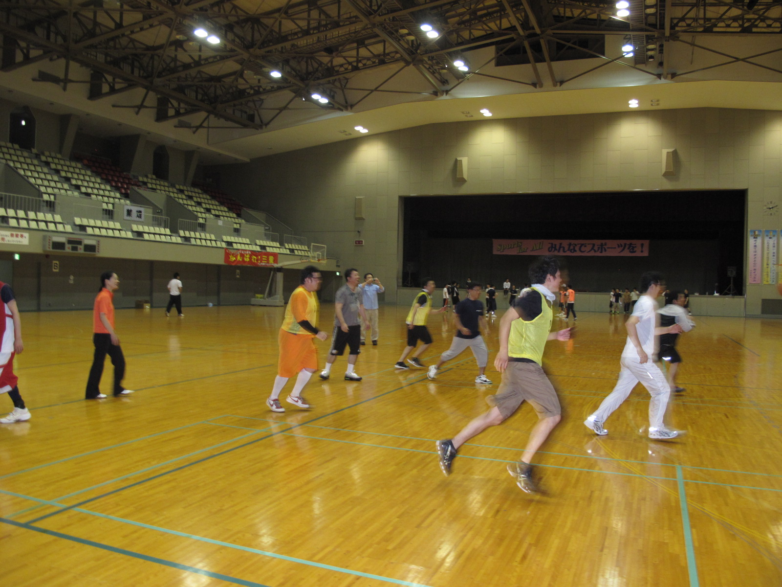 神道青年東海地区協議会「親睦行事(バスケットボール)」