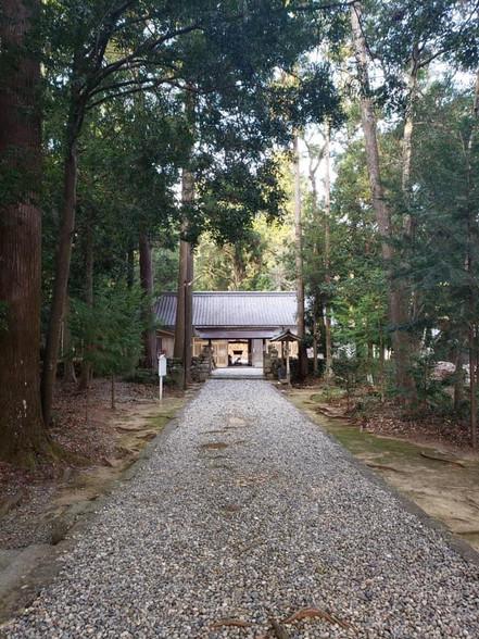 産田神社参道