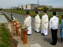 創立70周年記念事業「稲作」御田植祭