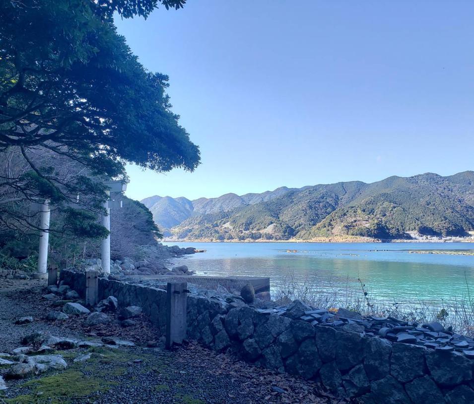 阿古師神社からの眺め