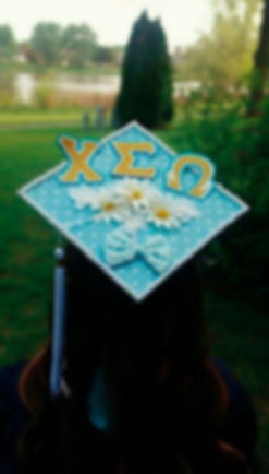 Chi Sigma Omega Graduation Cap for University of Illinois at Chicago (UIC)