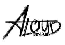 ALoud logo scratchy