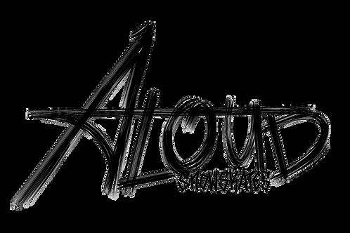 Scratchy Aloud Logo Sticker