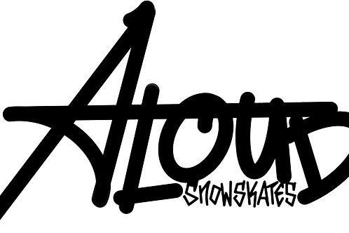 Smooth Aloud Logo Sticker