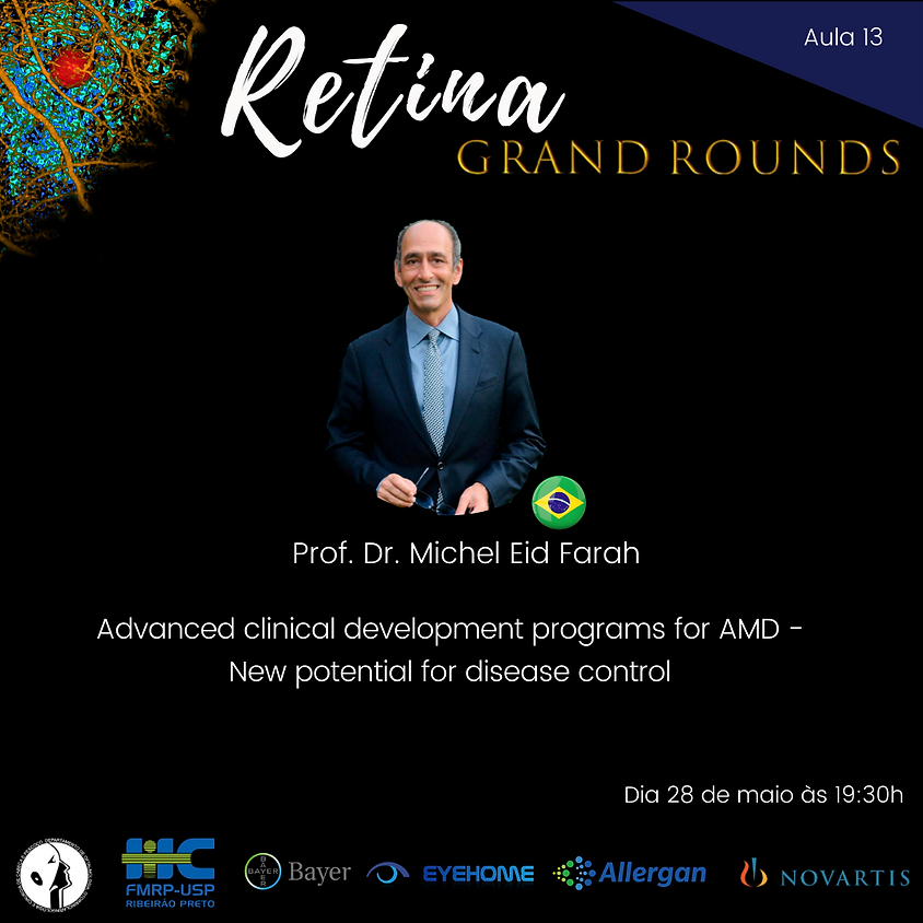Aula 13 - Advanced clinical development programs for AMD - New potential for disease control
