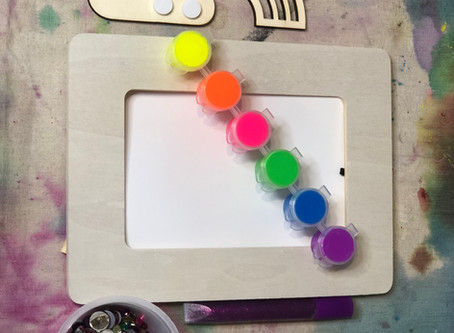 Making a Painted Picture Frame