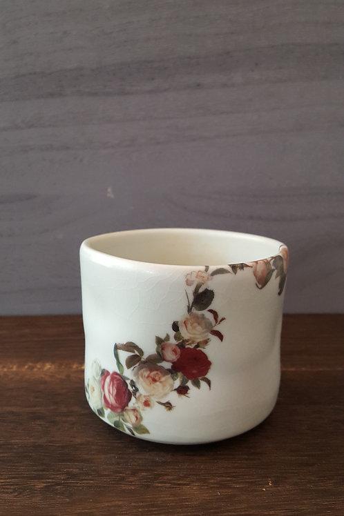 Tea Cup- Flowral