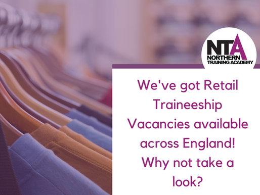 Check out our Traineeship Vacancies now!