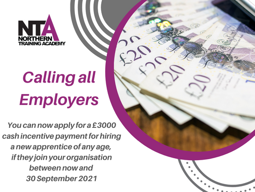 Make the most of Apprenticeship incentives!