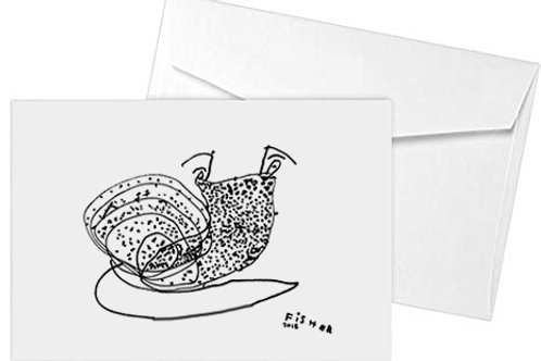 Snail Note Cards