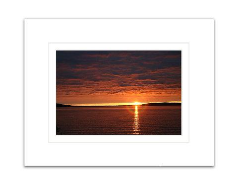 Crystal Lake Sunset