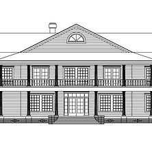 AutoCad produced residential drawing