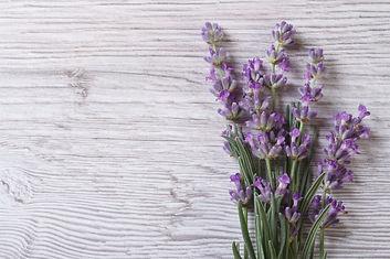 Bouquet Of Fragrant Lavender Flowers. Floral Frame_edited.jpg
