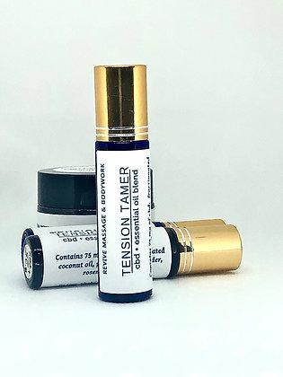 Tension Tamer CBD + Essential Oil Roller Blend