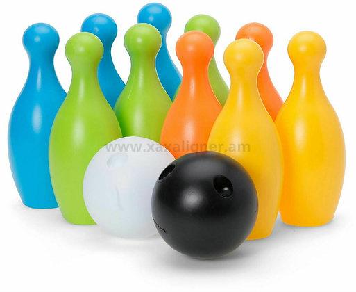 """Բոուլինգ """"Bowling"""" սև և սպիտակ գնդակով"""