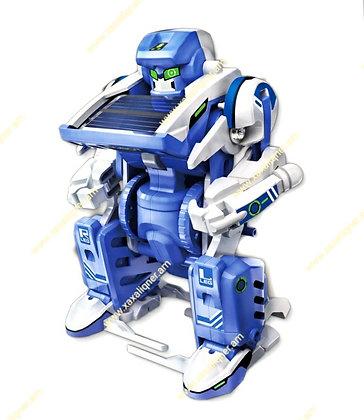 Արևային պանելով աշխատող մարտական ռոբոտ 3-ը 1-ում