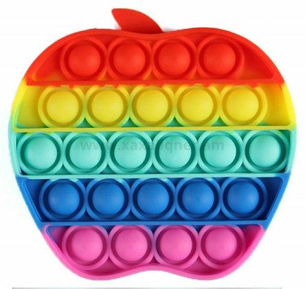 """Գունավոր անտիսթրես փոփ իթ """"Pop it"""" խնձոր"""