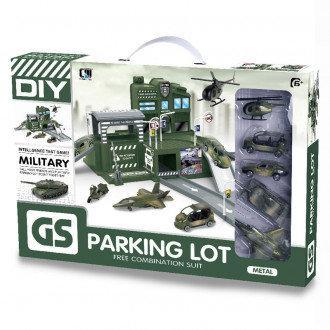 """Ավտոկայանատեղի ռազմական մեքենաներով """"Parking lot"""""""