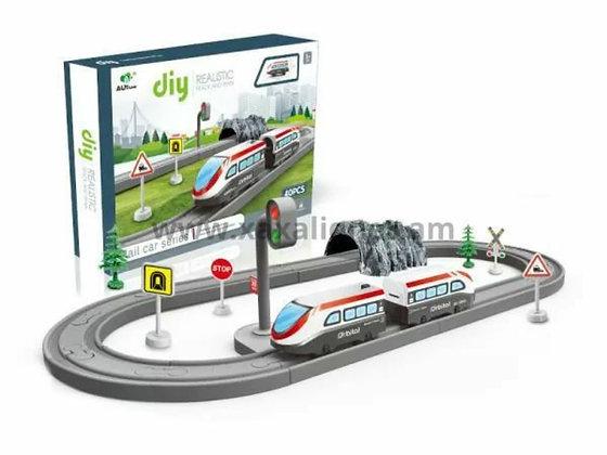 """Գնացք ճանապարհով """"diy"""""""