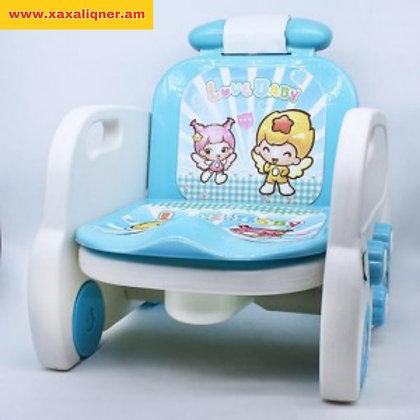 Գիշերանոթ աթոռ 2-ը 1-ում