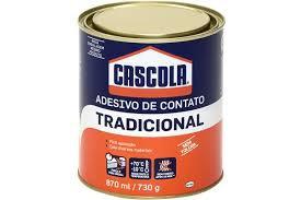 Cascola Tradicional Cola de Contato 730g. - Henkel