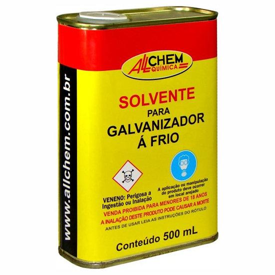 Solvente para Galvanizador A Frio 500ml. - Allchem Química