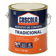Cascola Tradicional Cola de Contato 2,8kg.. - Henkel