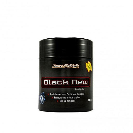 Black New - Revitalizador para Plásticos 350g - New Polish