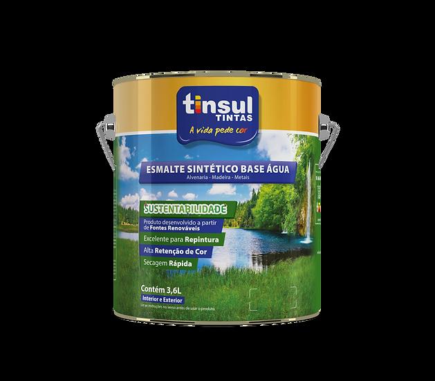 Esmalte Sintético Base Água Premium Branco 3,6L - Tinsul