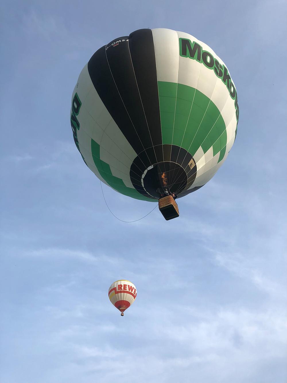 Moskovskaya Ballon vom Himmelsriesen Ballonteam