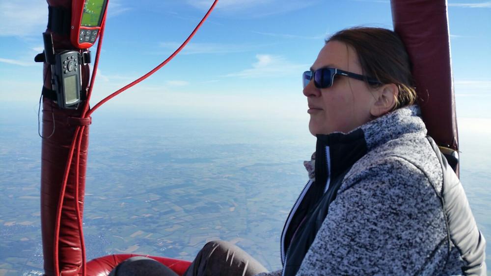 Freiheit pur auf 3.000m Höhe im Heißluftballon
